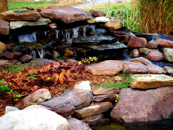 Water Feature Makeover for a Yard